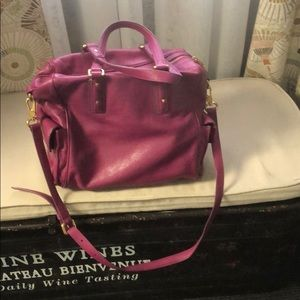 Marc Jacobs large leather shoulderbag